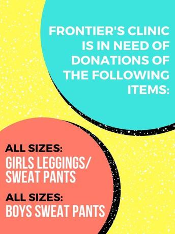 Donations Appreciated: