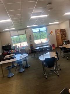 Inside upper classroom