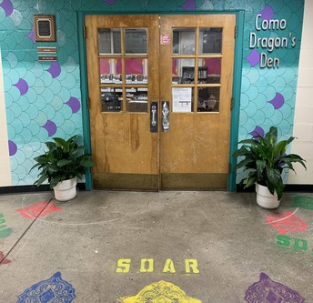 Redesigned Library Entrance
