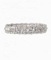 Arrison Stretch Bracelet - Silver