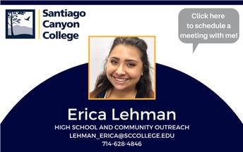 Meet Your SCC Rep Erica