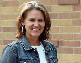 CARI PATZKE, fifth grade teacher, Ferguson Elementary School