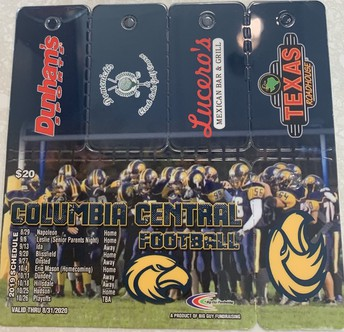 FOOTBALL DISCOUNT CARDS FOR SALE!