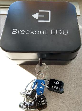 Breakout EDU Boxes