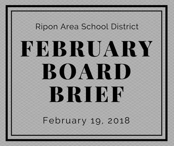 February Board Brief