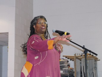 Storyteller Donna Washington