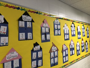 First grade homes of Fact Families