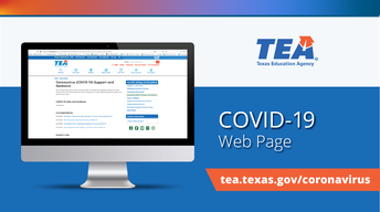 TEA COVID-19 Webpage