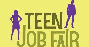 TEENAGE JOB FAIR - NOVEMBER 6TH!