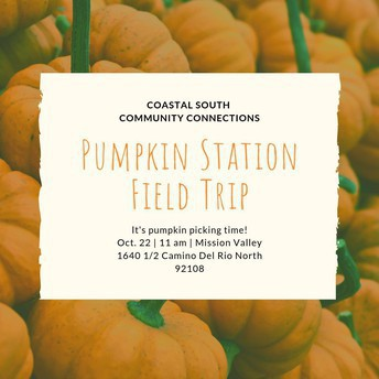 Pumpkin Station - Community Connections Trip