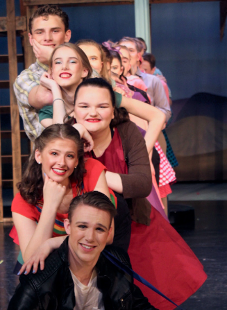 NEW THIS SEASON!  How to become a Contributing Patron of Goodrich HS Theatre!