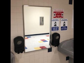 Soap Dispensers and Hand Washing Guidance
