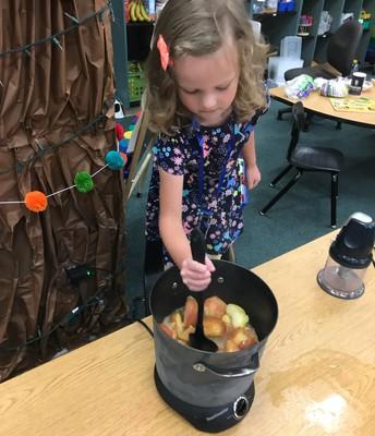 Making apple butter in PK!