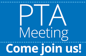PTA Meeting: Wednesday, January 8th 7:00 pm
