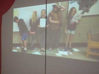 Videos produced by the students added to the museums