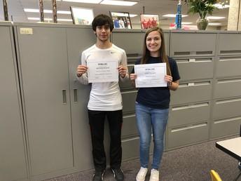 Garrett Carbullido & Hannah Pokharel
