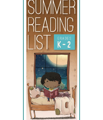 K-2 Summer Reading List