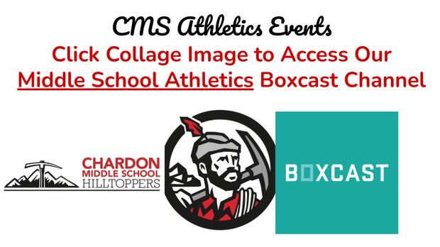 CMS Hilltoppers logo, Hilltopper logo, Boxcast logo