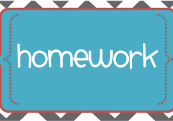 PARENTS HAVE HOMEWORK...AND SOME ASSIGNMENTS TOO!