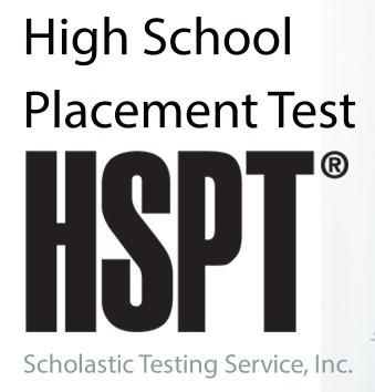 HSPT Registration Due Sunday