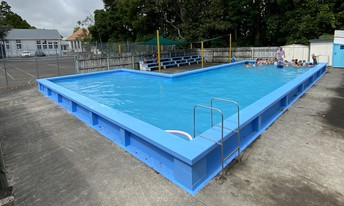 School pool - looking awesome!