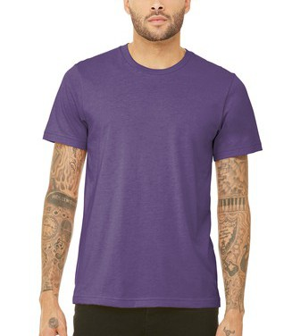 $15 SS Purple Triblend Tee