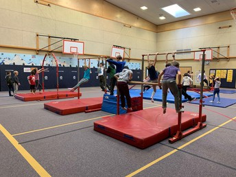 January is Gymnastics Month in PE