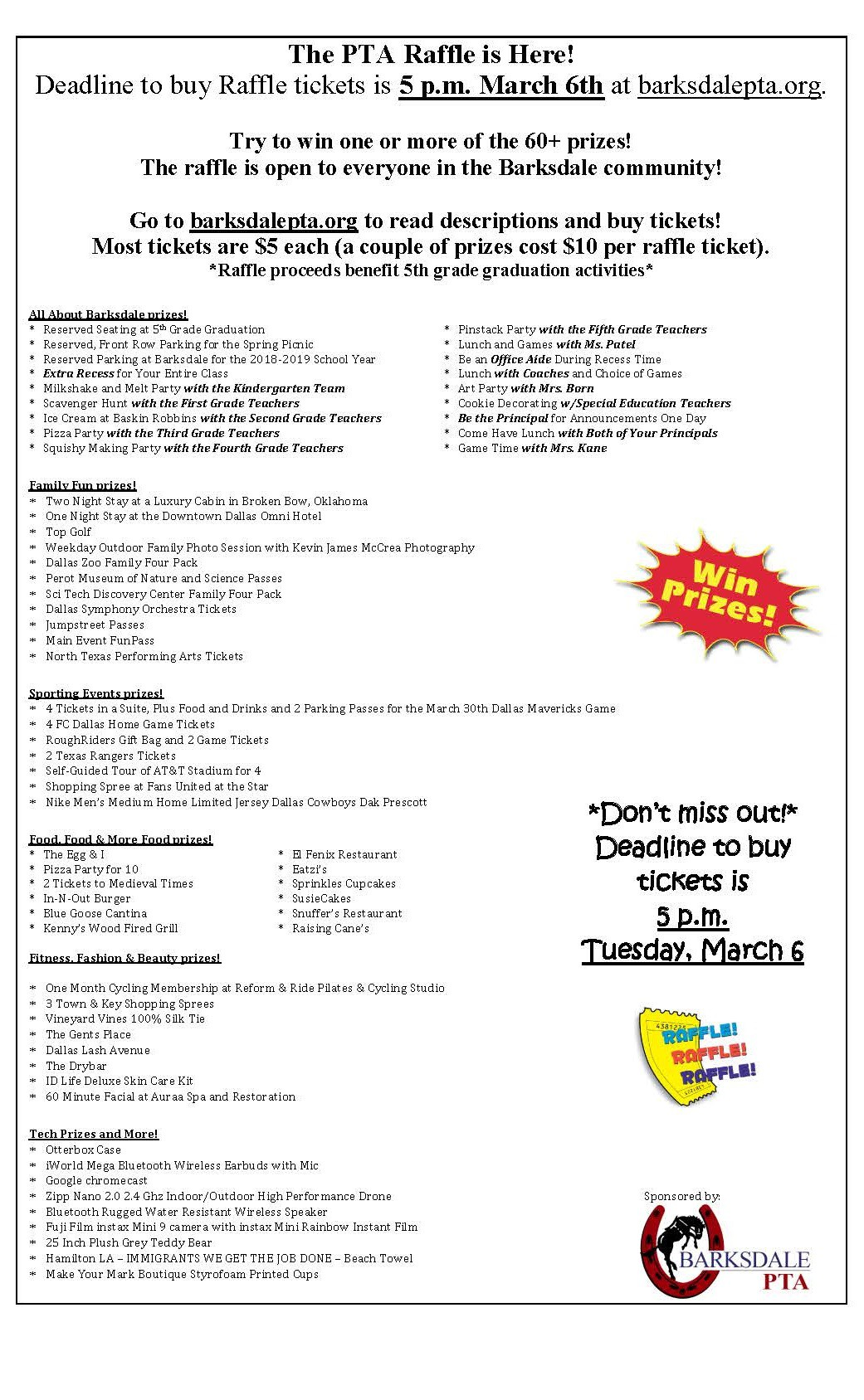 BARKSDALE ELEMENTARY | Smore Newsletters