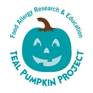 This Year on Halloween, Consider Being a Teal Pumpkin House