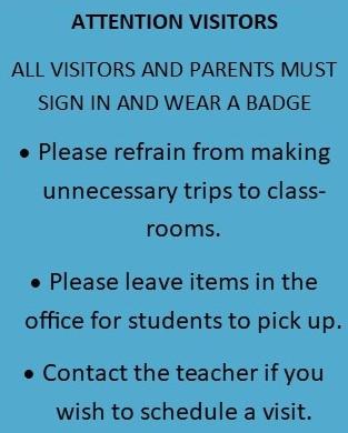 SCHOOL INFORMATION AND REGULAR HOURS