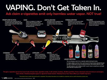 Share with Your Kids: The Dangers of Vaping