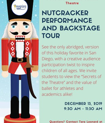 Nutcracker Performance & Backstage Tour