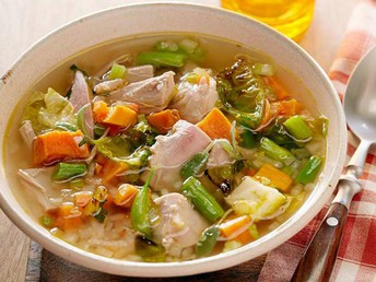 Next Day Turkey Soup Recipe
