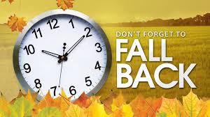 Reminder--Turn your Clocks Back