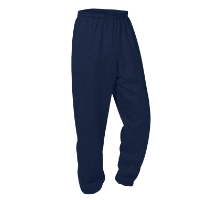Navy Sweatpant with Logo