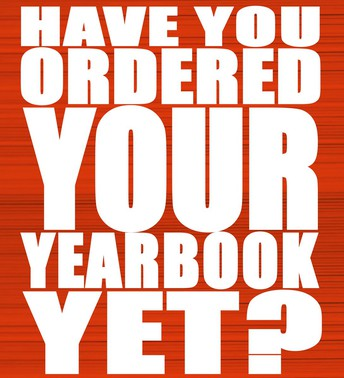Pre-order your Yearbook ONLINE NOW!
