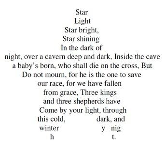 Concrete Star Poetry