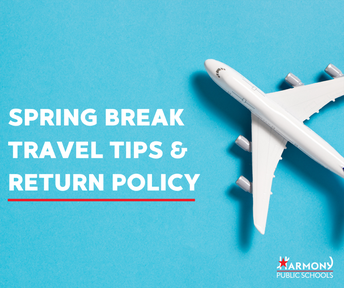 A NOTE FOR FAMILIES ABOUT CORONAVIRUS & SPRING BREAK TRAVEL
