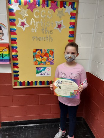 CCS Artist of the Month!