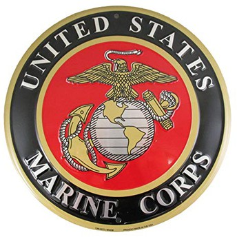 U.S. Marine Corps Visit Today in the Commons, Both Lunches