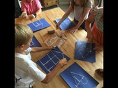 Learning about structures and creating our own blue prints