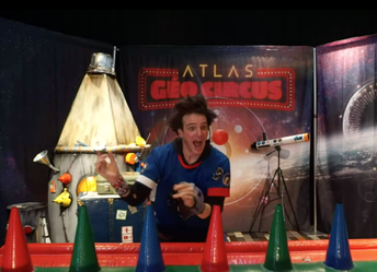 Le spectacle Géo Circus