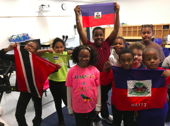 Grade 2 students raise your flags high with pride!