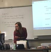 Mrs. Chamberlain--Lesson Framed
