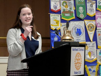 Rotary Club Student of the Month