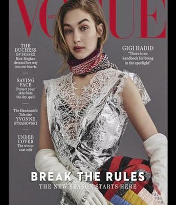 Lumispa Ad in #Vogue July 2018 issue