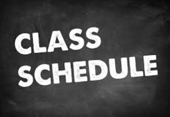 2020-2021 Class Schedules