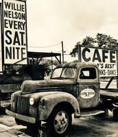 Floore Country Store's Truck Sepia Print