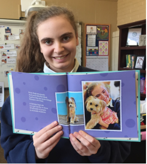Transitions Student Loghan Robison Featured in Children's Book