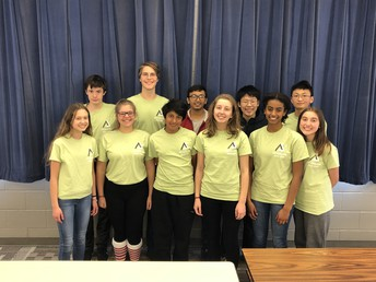 Three Qualify for State Math Competition